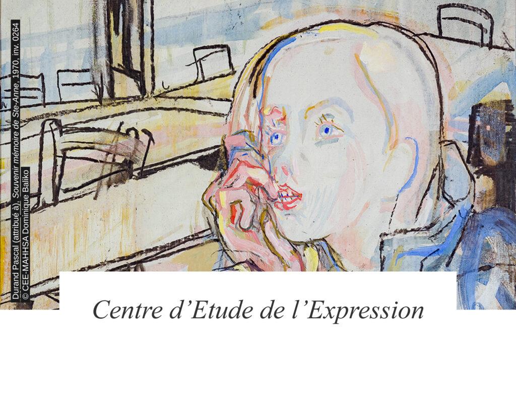 Centre d'Etude de l'Expression MAHHSA / Durand Pascal (attribué à), Souvenir Mémoire de Ste-Anne, 1970, Gouache sur carton, 38,5 x 28,5 cm, © CEE-MAHHSA / Dominique Baliko / Centre d'Etude de l'Expression