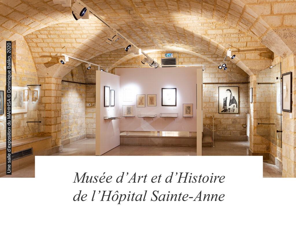 Musée d'Art et d'Histoire de l'Hôpital Sainte-Anne - une des salles d'exposition du musée - (c) Dominique Baliko